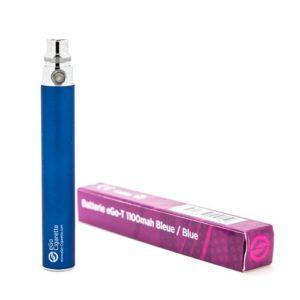 eGo-Cigarette Batterie 1100 mAh pour Cigarette Electronique Bleu