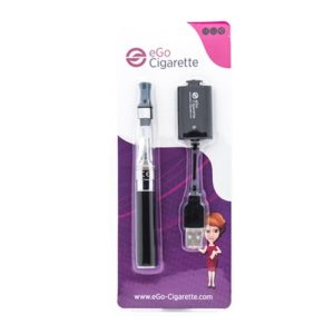 eGo-Cigarette Coffret Cigarette Electronique Kit eGo-First Sans Nicotine