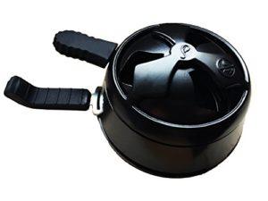 SecPack Chicha Régulateur Black Heat Régulateur De Chauffe Couvre-Foyer De Chicha Narguilé
