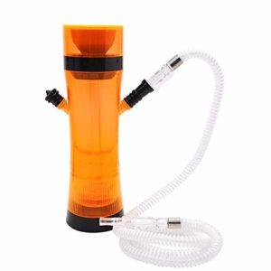 TYX HOME arabe narguilé de la lampe de narguilé en acrylique portable narguilé, Orange