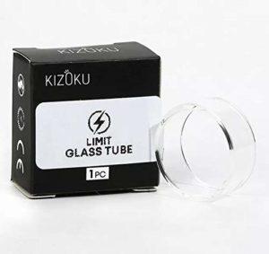 Vitre de rechange pour Kizoku Limit Rta Verre d'origine (pas de nicotine)