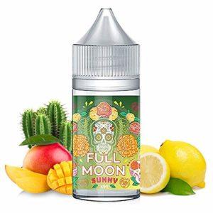 Concentré Sunny 30ml – Full Moon – Sans tabac ni nicotine – Vente interdite aux personnes âgées au de moins de 18 ans – 0 MG – Genre : 20-30 ml