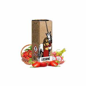 Licorne astral – Curieux – Sans tabac ni nicotine – Vente interdite aux personnes âgées au de moins de 18 ans – 0 MG – Genre : 10 ml