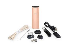Pax | PAX 3 – Vaporisateur Portable Premium – Vapo Matière Végétale Concentré Wax – Garantie 10 ans – Nouvelle Edition – Complete Kit – Rose Doré Mat