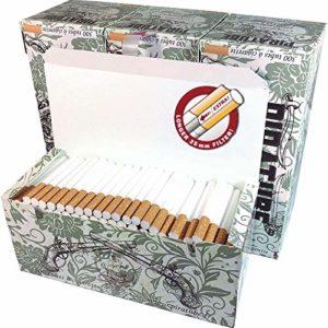 Piratube EXTRA 4 boites de 300 tubes cigarettes Extras avec filtres longs