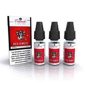 Red Dingue 3x10ml Le French Liquide (6 pièces) TPD FRANCE 0 mg