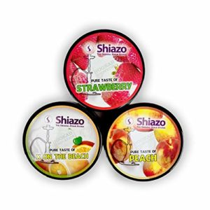 Shiazo – Pierre à vapeur – SUNSHINE – 3 boites de 100g pour chicha/narguilé