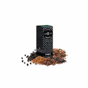 Tweed – Curieux – Sans tabac ni nicotine – Vente interdite aux personnes âgées au de moins de 18 ans – 0 MG – Genre : 10 ml