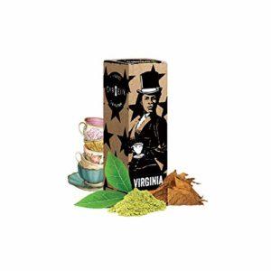 Virginia tea – Curieux – Sans tabac ni nicotine – Vente interdite aux personnes âgées au de moins de 18 ans – 0 MG – Genre : 10 ml