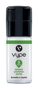 VYPE Bouteille Liquide eTank Pro Saveur Pomme Verte 0 mg/ml – Lot de 3