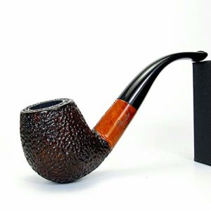 XINGDONG en Bois Massif Pipe Façonné rétro Vieux Hommes Tabac Sec Portable Rod Tabac Nest Accessoires Tabac à Pipe Mode (Size : 148MM*47MM*41MM)