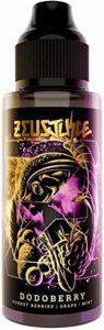 Zeus juice e Liquid Vape Juice 100 ml avec Child Lock E Liquid convient à tous les kits de démarrage de cigarettes électroniques Mix Fruits 70VG 30PG sans nicotine (DODOBERRY)