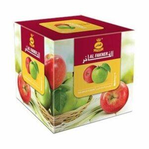 Bhuvika Al Fakher Shisha Double saveur pomme 1000 g