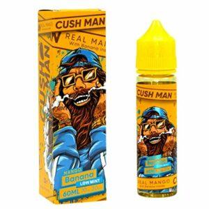 Cush Homme Nasty Juice Sortiment E-Liquide 70/30 Vgpg 50ml 0mg Cigarette Electronique Recharge Sans nicotine et sans tabac (Mango Banana)