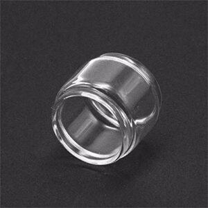 Denghui-ec 1pc ReventeMen Ampoule Pyrex Tube en Verre/Ajustement Droit for FrememAc Mesh Pro Tank 6ml Sub Ohm (Couleur : 5ml Capacity)