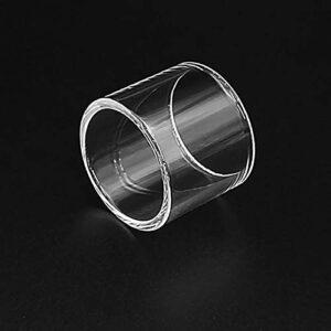 Denghui-ec 4pcs Remplacement du Tube en Verre Pyrex Fit for Wotofo Bravo RTA 4.5ml / 6ml Réservoir 25mm (Couleur : Fit for Bravo 4.5ML)