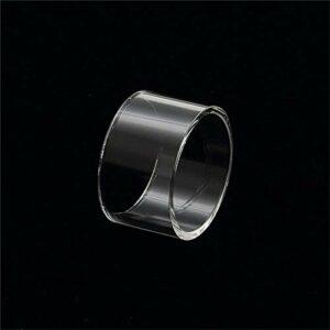 Denghui-ec Tube de Verre de Rechange de 4 pcs Ajuste for Le réservoir PYRO 24 RDTA 4ML Vaporisateur de 24mm (Couleur : Clair)