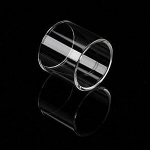 Denghui-ec Tube de Verre Pyrex de Remplacement 4PCS 5ML Fit for Digiflavor Siren 25 Atomiseur GTA MTL 25 Réservoir 24mm (Couleur : 4pcs)