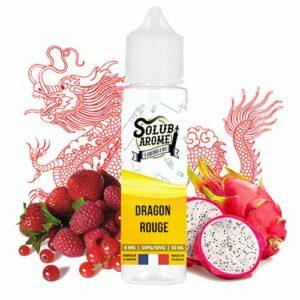 E-liquide Dragon rouge 50ml Solubarome – Sans Tabac et Sans Nicotine