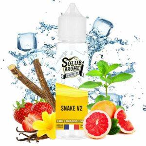 E-liquide Snake V2 50ml Solubarome – Sans Tabac et Sans Nicotine