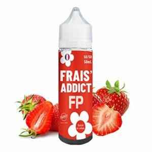 Frais'Addict 50ml – Flavour Power – Sans tabac ni nicotine – Vente interdite aux personnes âgées au de moins de 18 ans – 0 MG – Genre : 40-70 ml