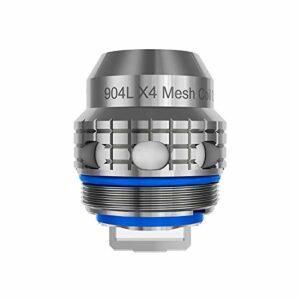 FreeMax 904L X-Series Boils X4 0,15 ohm (5 pièces/lot) 2 ml, sans nicotine, sans tabac, sans liquide