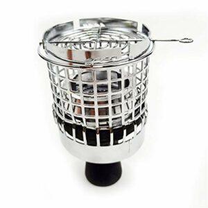 LLX Écran de Cage de Couverture de Vent de Narguilé pour Narguilé Shisha Bowl Head Heat Keeper Nargile Accessoires