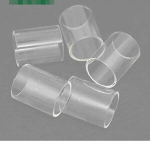 Qingtian-ceg 5PCS REMPLACEME Verre Tube FIT for Justfog Q16 Pro FIT for Q16C FIT for Q16PRO FIT for Q14 S14 Compact 14 C14 16 Classe Tank (Couleur : FIT for Justfog, Taille : Q14 1.8ml)