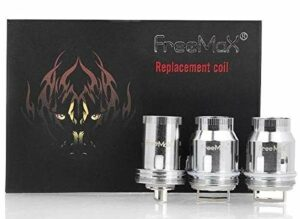 Resistance Freemax Mesh Pro (3PCS) (0.15ohm Quad Mesh – 80-120W) Ne contient pas de nicotine ni de tabac