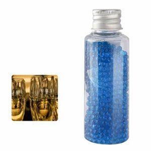 TUOYA 1000 Pièces Bricolage Menthe Poivrée Cigarette Capsule Filtre Capsule Perles Aroma Bullet Explosif, Conseils De Filtre, Arôme Capsule Mixte (Color : Champagne)