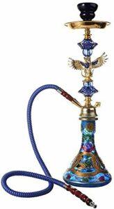 UYZ Shisha, Grande Bouteille Fond Hooka Set Shisha Accessoires Bar sans Nicotine