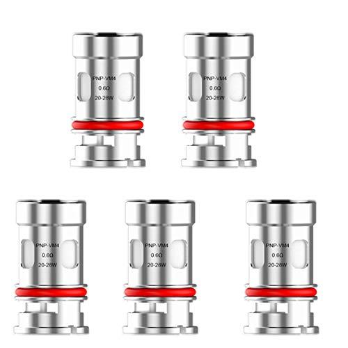 VOOPOO PnP-VM4 Bobine de maille de rechange 0,6 Ohm pour VOOPOO Vinci/Vinci R/Vinci X