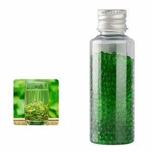 XYZLEO Cigarettes Au Menthol Capsules Aromatiques DIY Cigarette Explosion Perles Click Filtre Capsules D'ArôMe Mixte (1000 Capsules),Green Tea