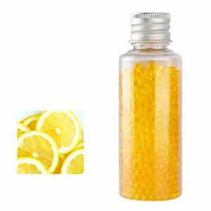 XYZLEO Cigarettes Au Menthol Capsules Aromatiques DIY Cigarette Explosion Perles Click Filtre Capsules D'ArôMe Mixte (1000 Capsules),Lemon