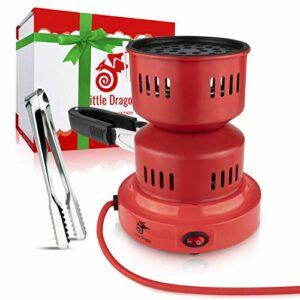 Allume-charbon pour chicha [HYDRA] Durable & rapide Allume-charbon pour chicha avec panier à charbon portable – 5 minutes Barbecue à charbon chicha – Accessoires de qualité supérieure + boîte cadeau