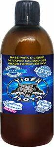 Base de vapotage – 70VG / 30PG – 1 litre | Extra Flavour – SWEETMEAT| Marque: Tiger Flureté certifiée | Puzera 99,5% sans nicotinoyd | Qualité USP- Qualité pharmaceutique – Pe sans tabac 0mg nicotine