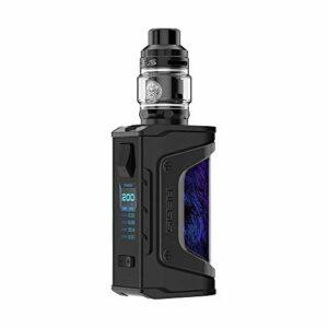 Cigarette électronique Geekvape Aegis Legend 200W TC Kit with 5ml GEEKVAPE Zeus Subohm Tank, sans eLiquide, sans nicotine (Noir Blue)
