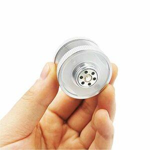 CJCJ-LOVE Accessoires De Narguilé Arabe, Noyau Intérieur De Filtre en Métal Et Acrylique, Porte-Cigarette, Diamètre 3,4 Cm