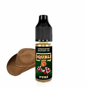 Concentré Pure Double 5 – The Fuu – Sans tabac ni nicotine – Vente interdite aux personnes âgées au de moins de 18 ans – 0 MG – Genre : 10 ml