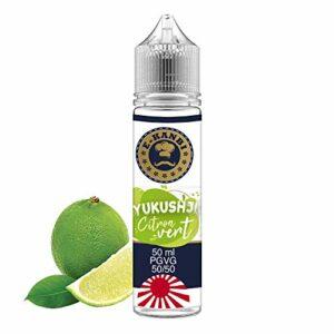 E-Liquide 50 ml E-Kanbi Yukushji Citron vert