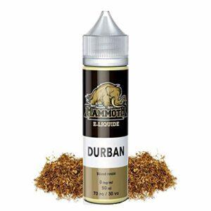 E-liquide DURBAN (50ml) Mammoth E-liquide (sans nicotine ni tabac)