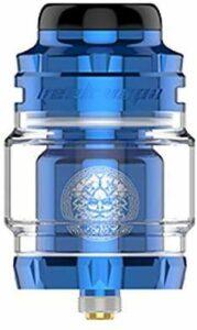 Geekvape Zeus X Mesh RTA 25 mm 4,5 ml réservoir étanche système de flux d'air supérieur atomiseur avec maille modulaire Build Deck (Blue)
