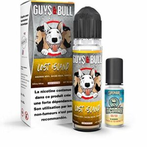Guys & Bull: Lost Island 60ml Easy2Shake – Le French Liquide – 3mg