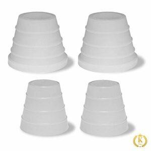 KKing'z® Lot de 2 joints de tête et de tuyau pour narguilé en silicone et joint de tuyau pour narguilé
