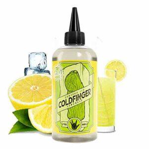 Lemonade Ice 200ml ColdFinger – Joe's Juice – Sans tabac ni nicotine – Vente interdite aux personnes âgées au de moins de 18 ans – 0 MG – Genre : 80 ml et +