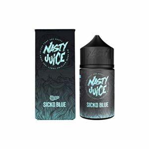 Nasty Juice Berry Series e Liquid Vape Multiple Flavours, 50ML 0MG 70VG 30PG – No Nicotine (Sicko Blue)