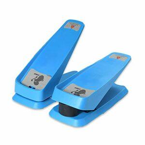 OHHCO Swing Stepper & Sidestepper pour Les utilisateurs débutants et avancés,Bleu