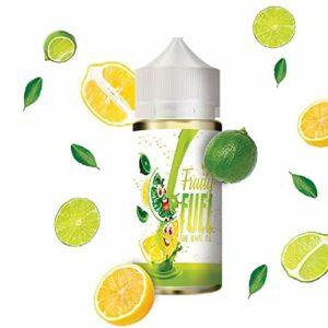 The white oil 100ml – Fruity fuel – Sans tabac ni nicotine – Vente interdite aux personnes âgées au de moins de 18 ans – 0 MG