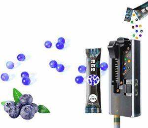 TUOYA Lot de 200 capsules de filtre à la menthe poivrée pour arômes aromatiques