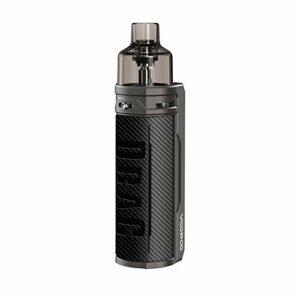 VOOPOO Drag X 80W 4.5ML Kit Complet Cigarette Electronique Kit de démarrage – Sans nicotine ni tabac (Fibre Carbone)